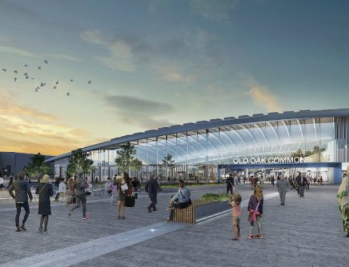 Start of construction at HS2's London super-hub moves a step closer as Old Oak Common station planning submission is submitted
