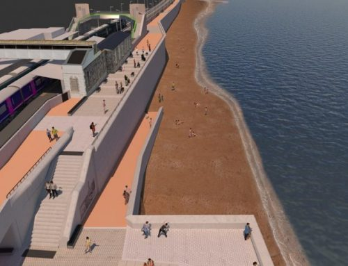 Plans unveiled for remaining section of £80m Dawlish sea wall that will protect the railway and the vital link it provides for the south west