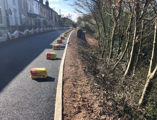 Next phase begins to secure moving residential street beside the West Coast main line