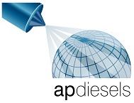 A P DIESELS logo