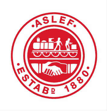 ASLEF red logo