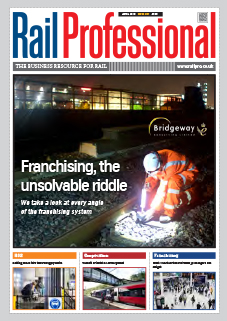 Rail Pro April 2019 issue magazine front cover