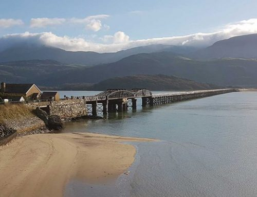 Network Rail begins biggest restoration of Barmouth Viaduct in its history