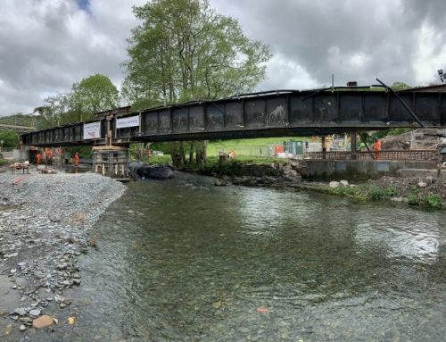 Innovative bridge raising scheme continues – despite extreme weather