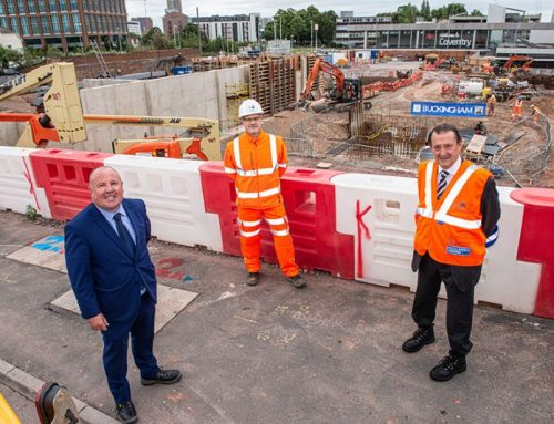 Major milestone in the £82 million project in the Coventry Station Masterplan underway