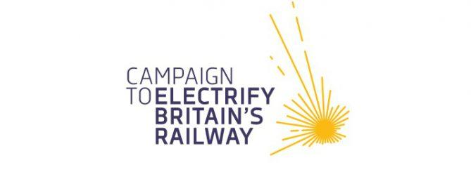 Campaign to Electrify Britain's Railway logo