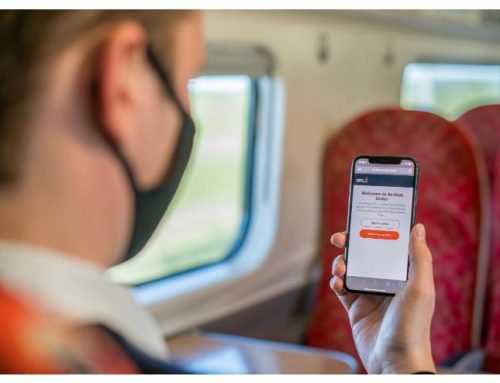 """At-Seat Order"" rolled out across Avanti West Coast UK network"