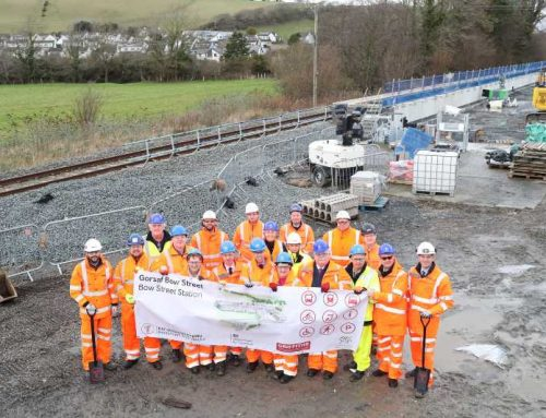 Work begins on new station at Bow Street