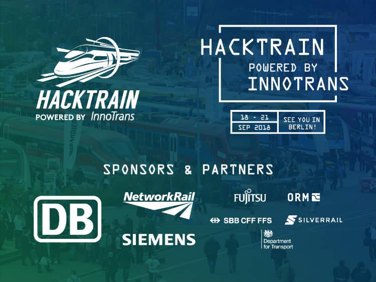 Hacktrain InnoTrans partners hackathon