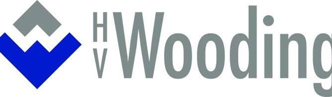 Hv wooding logo