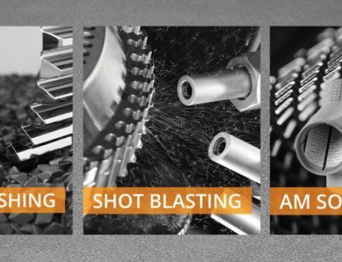 Rösler surface finishing equipment for the rail industry