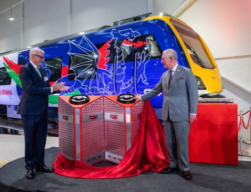 PRINCE CHARLES OFFICIALLY OPENS CAF FACILITY IN NEWPORT
