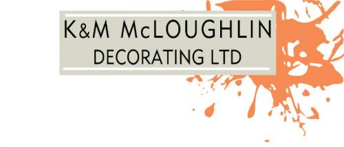 K&M McLoughlin Decorating logo