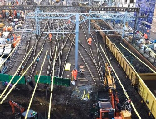 Network Rail reaches major milestone on £1.2billion East Coast Upgrade as all tracks into King's Cross are lifted to allow sewer reconstruction