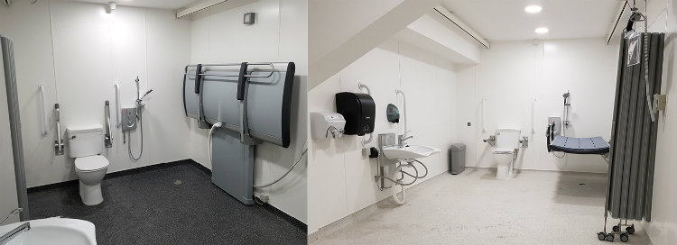 Newcastle United Changing Places installed by Innova
