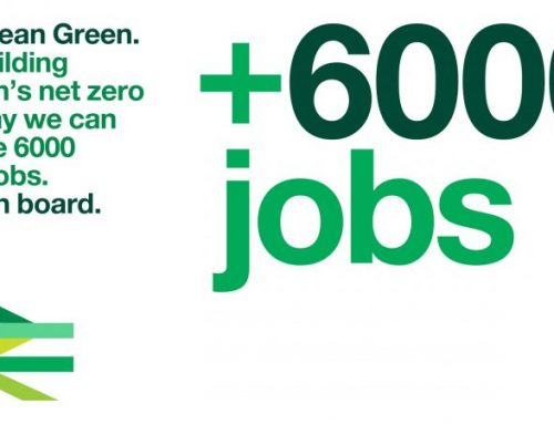 Net zero trains commitment can power a green jobs revolution, says rail industry