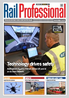 Rail Pro Feb 2019 issue front cover