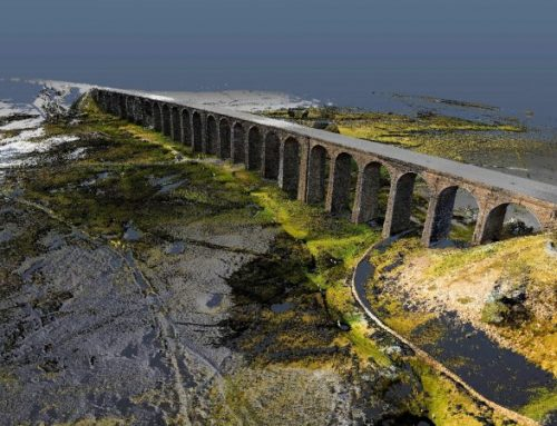 Laser and drone technology recreates Ribblehead viaduct