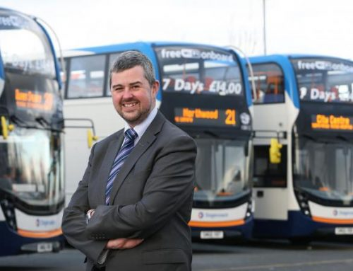 Stagecoach's Rob Jones – newly elected Chair at TBF