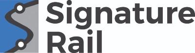 Signature rail logo