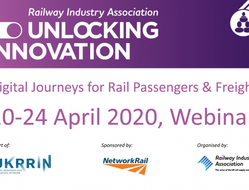 Unlocking Innovation events go virtual with Digital Journeys for Passengers and Rail Freight webinars