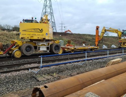 Work begins to support the electrification of the Core Valley Lines on South Wales Metro
