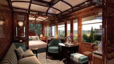 Paris Grand Suite aboard Venice Simplon-Orient-Express