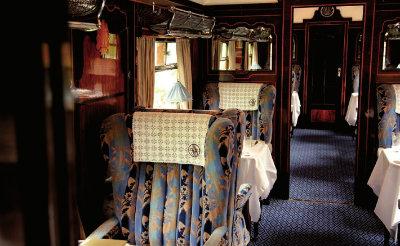 Carriage Gwen aboard Belmond British Pullman