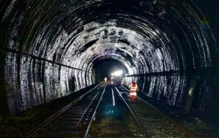 View inside Old Hill tunnel in Rowley Regis (1)