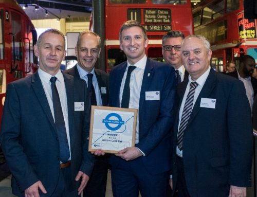 William Cook Rail has won the 'Best SME' award at Transport for London's (TfL) annual supplier awards.