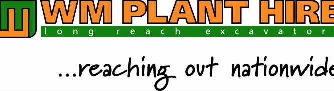 WM Plant Hire logo