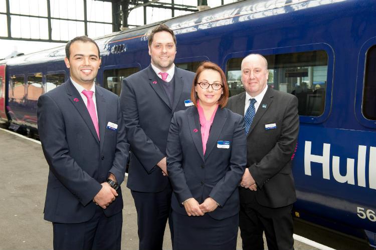 Hull Trains team