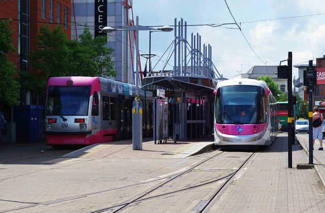 Midland Metro trams