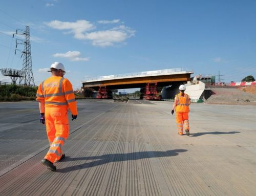 HS2 installs new modular bridge over M42 in just two days