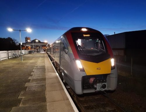 New trains now in passenger service on Ipswich-Felixstowe line
