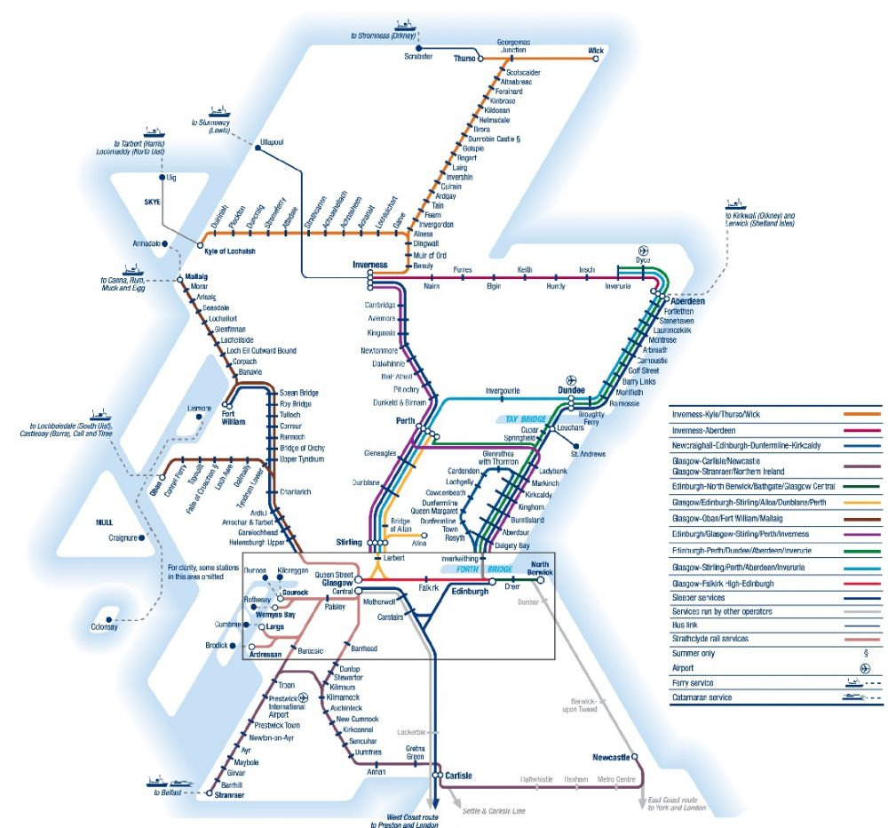 Train Routes In Scotland Map.Scotrail Rail Professional