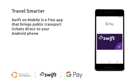 ITSO-enabled Swift on Mobile launches on West Midlands Metro