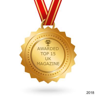 UK top 15 magazines